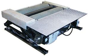 Тормозной стенд с нагрузкой на ось до 15т (библок)