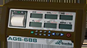 Газоанализатор Brain Bee AGS-688